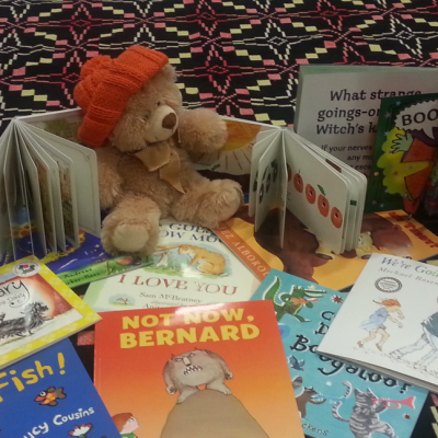 Teddy says Thank you – Shared Reading in White City Community Centre
